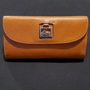 Dooney & Bourke Trifold Leather Wallet